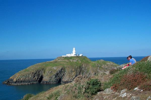 DAY 4: Trinity lighthouse at Strumble Head