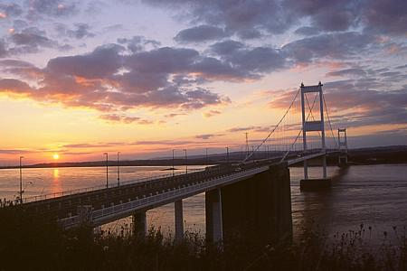 GOING HOME - the Severn Bridge.