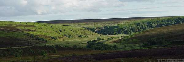 View over the moors near Fylingdales