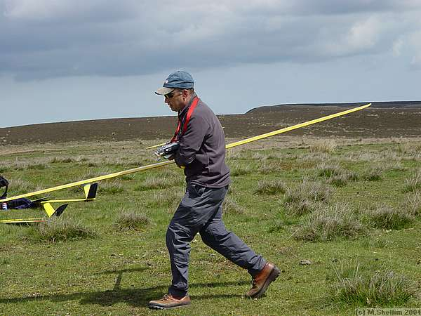 Mark Southall flew his Elita very precisely to win the event.