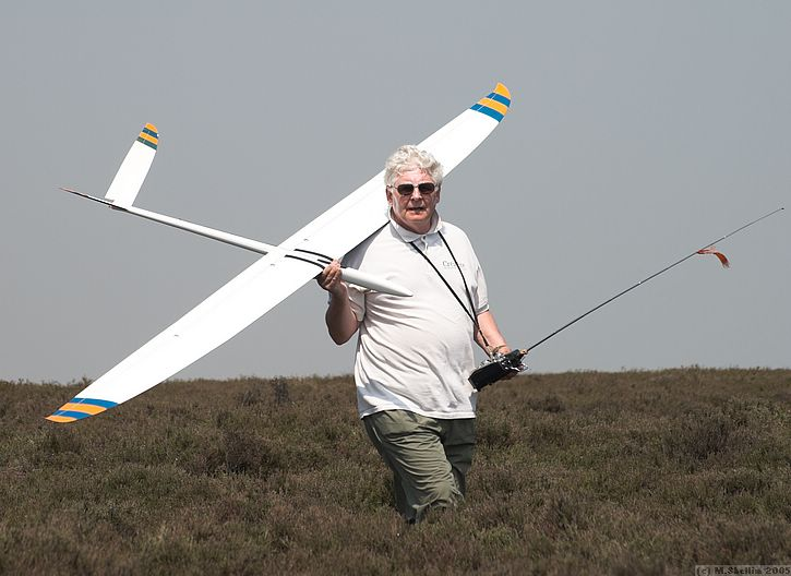 Tom McPherson impressed with his new Caldera.
