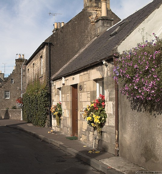 Photographs of Falkland, 'neatest village in Fife'
