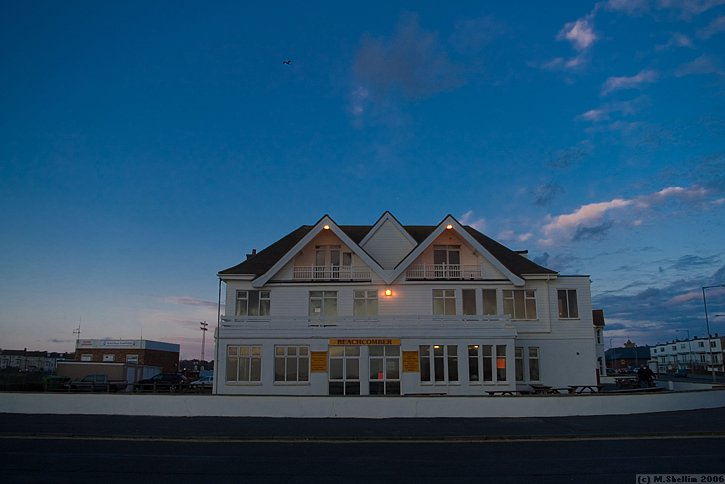 The Beachcomber Hotel, on the Seaford seafront.