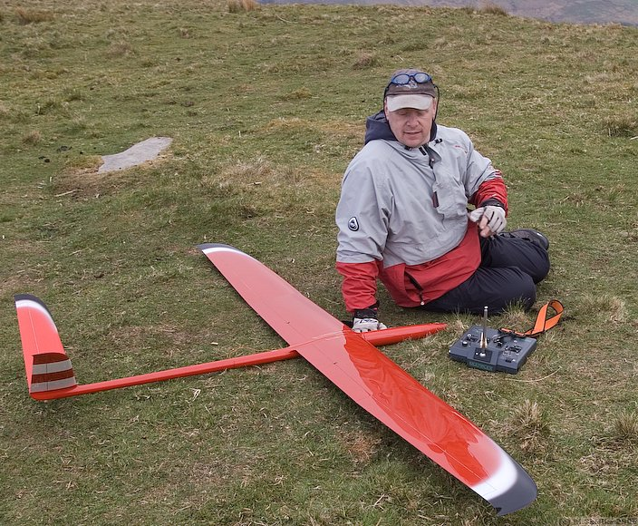 After a dodgy first round, Ian Mason flew very smoothly with his short winged Acacia 3.