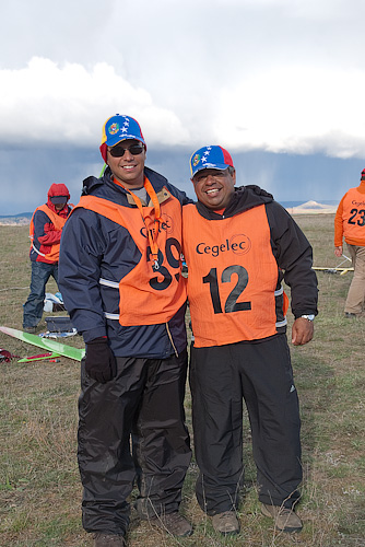 Raul Segnini Marin and Carlos Rivero from Venezuela