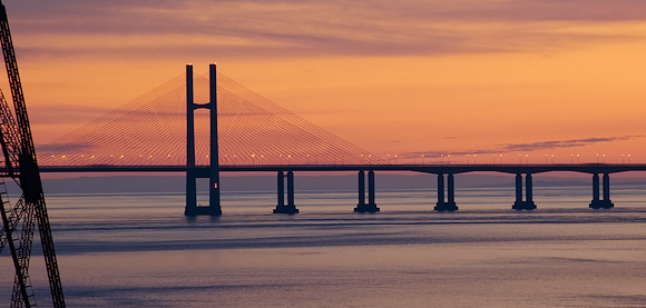 New Severn bridge, from Severn Services.