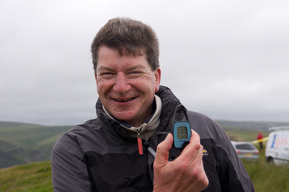 Phil stress testing the wind meter
