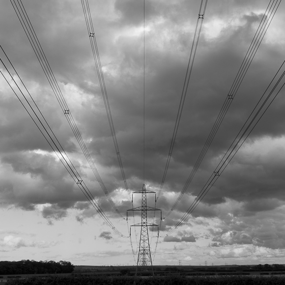 Pylons, near selby