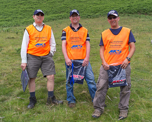 Winning Team DHP: Keith Wood, Paul Middleton and Rich Bago