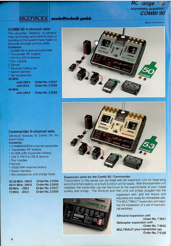 Multiplex commander - Commander catalogue ampm ...